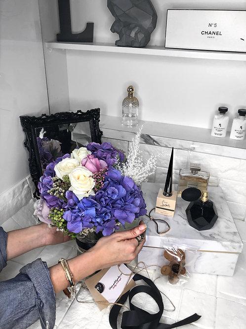 A Vase Full of Purple Pops