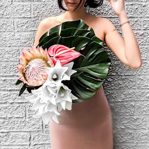 The Monstera Protea Bouquet