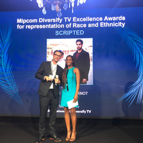 THE BOY WITH THE TOPKNOT WINS AT THE DIVERSIFY TV EXCELLENCE AWARDS