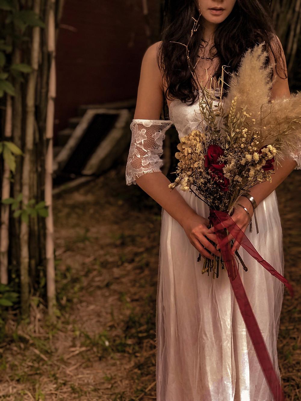 Pampas Wedding Bouquet Singapore Florist