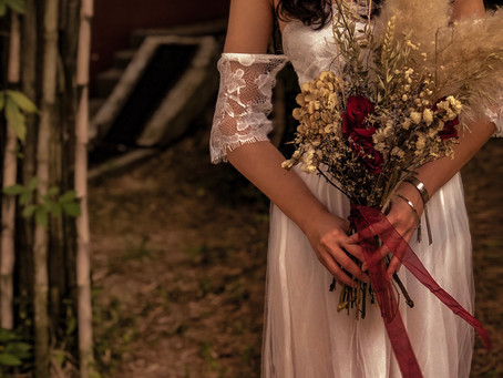 Pampas Wedding Settings