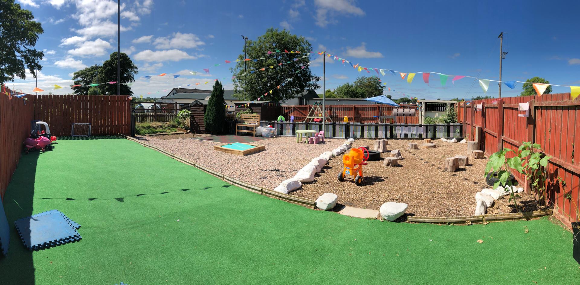 Baby and Nursery School Garden