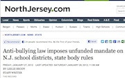 How New Jersey Can Reduce Bullying With No Extra Budget