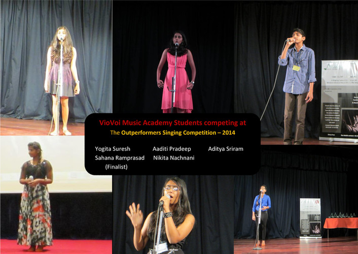 Students of VioVoi Music Academy
