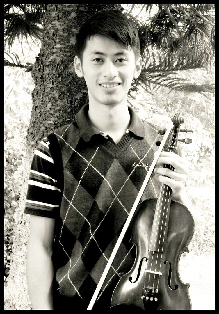 Nourhevilie Khate - currently majoring in Violin at Trinity Laban College, UK