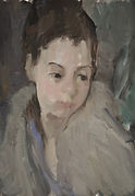Portrait of Alice. Oil. 14''x10''.JPG