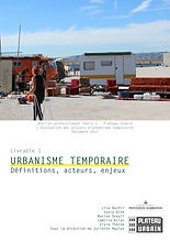2018_atelier pro UP1_Livrable_1_Urbanism