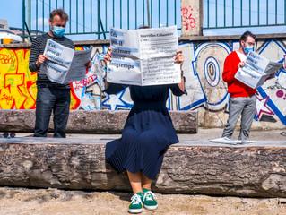 Découvrez nos deux articles sur l'urbanisme transitoire parus dans le journal Nouvelles Urbanités