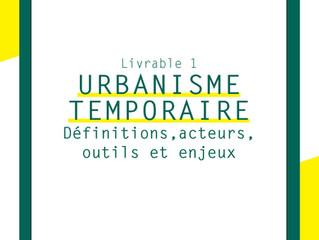 L'URBANISME TEMPORAIRE : COMMENT EVALUER SON IMPACT ? //