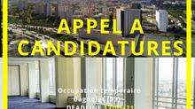 APPEL À CANDIDATURES // Tours Mercuriales // Bagnolet - 6 mois minimum - à partir de janvier 2021