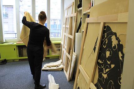 Juliette Lemontey's studio - L'Eclaircie