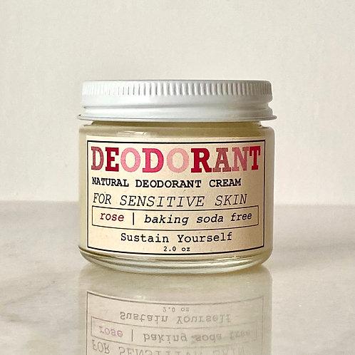 rose geranium deodorant cream