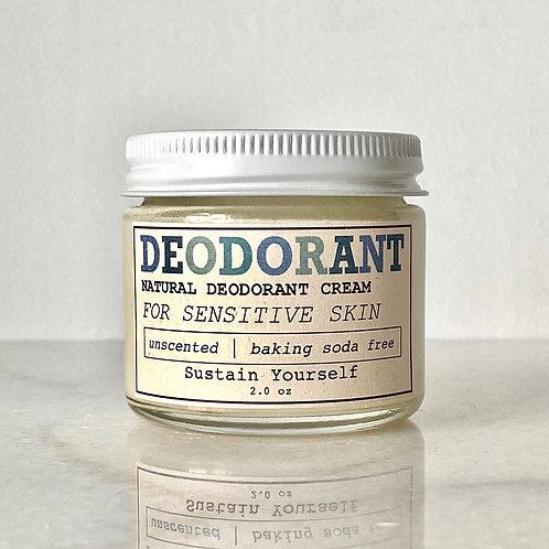 unscented deodorant cream