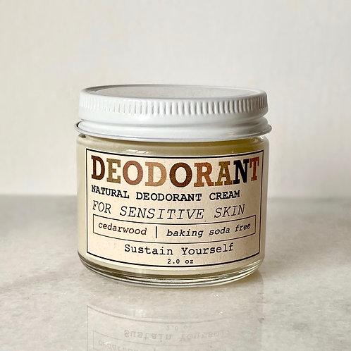 cedarwood deodorant cream