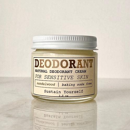 sandalwood deodorant cream