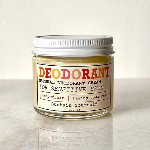 grapefruit deodorant cream