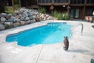 Fiberglass Inground swimming pool