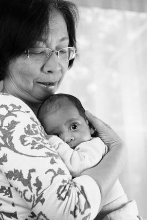 Amir and Grandmother