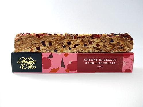 Cherry Hazelnut & Dark Chocolate | 100g Bar |