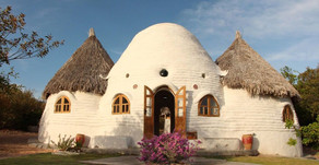 Building green homes with Superadobe in Valladolid Yucatan