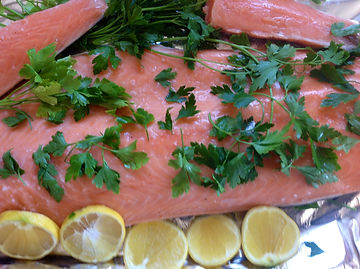 Healthy Salmon for quick and easy cooking