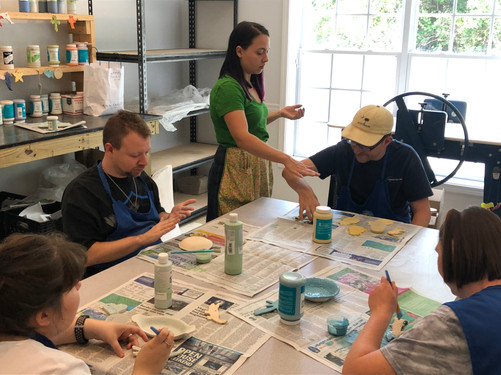 PEP Artist and Ceramics Instructor