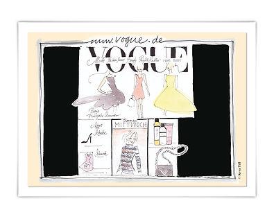 VOGUE Vogue Kundenmailing Mailing Karte