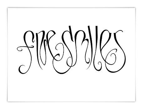 freie Kalligrafie Calligraphy Ambigramm