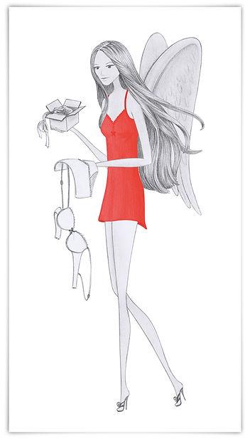 Illustration Modeillustration myself Conde Nast Verlag Schiesser