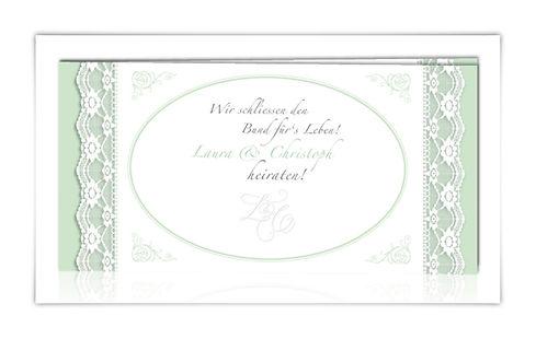Hochzeitskarte Einladungskarte