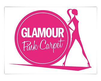 GLAMOUR Glamour Pink Carpet Logo Illustration