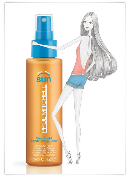 Illustration Modeillustration myself Conde Nast Verlag Paul Mitchell