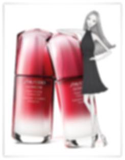 Illustration Modeillustration myself Conde Nast Verlag Shiseido