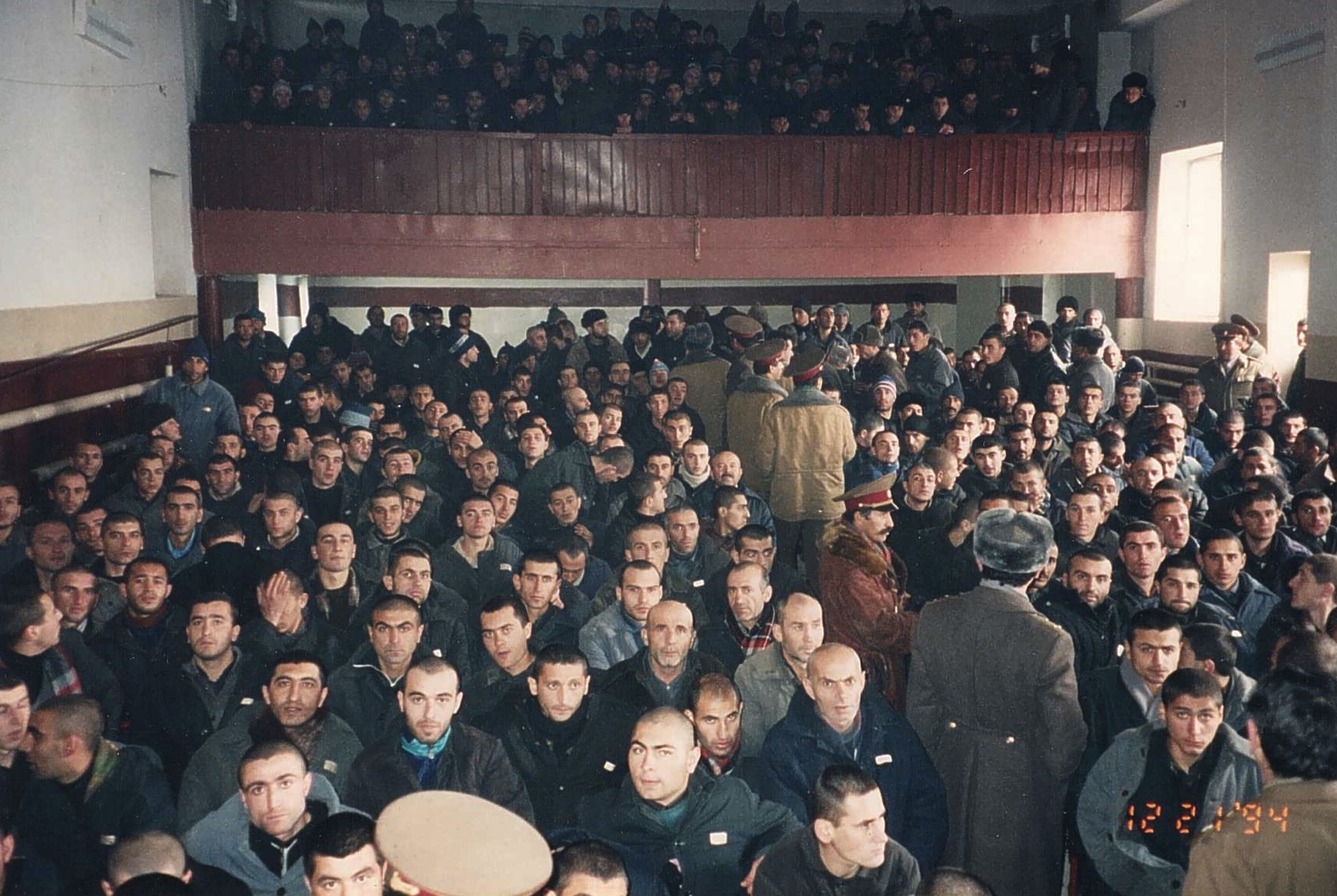 Worshiping at the prison in Armenia.jpg