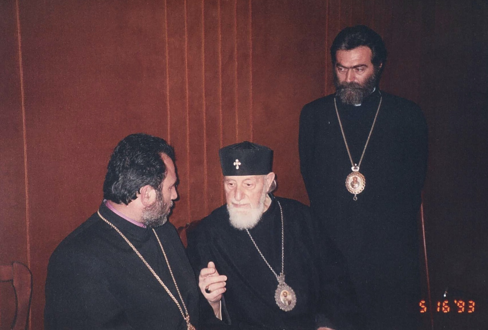 The primates karekin and Barkev with his Holiness Vasken Vehapar .jpg