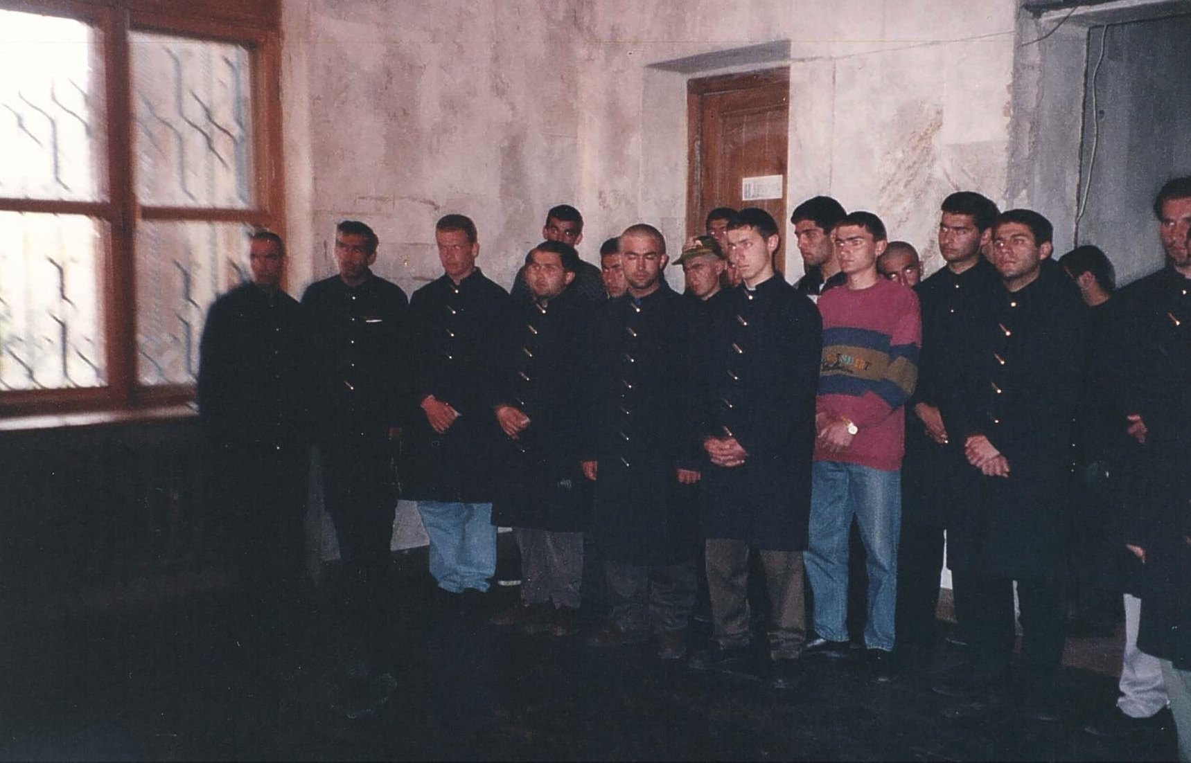 Lecture in Vazgena Seminary by Lake Sevan.jpg