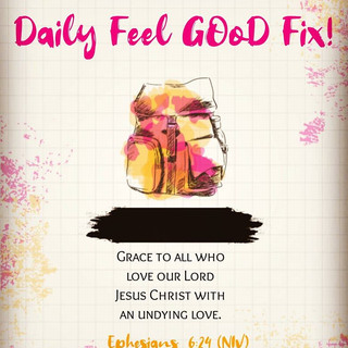 Jesus, our first love!