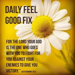 God Fights For Us!