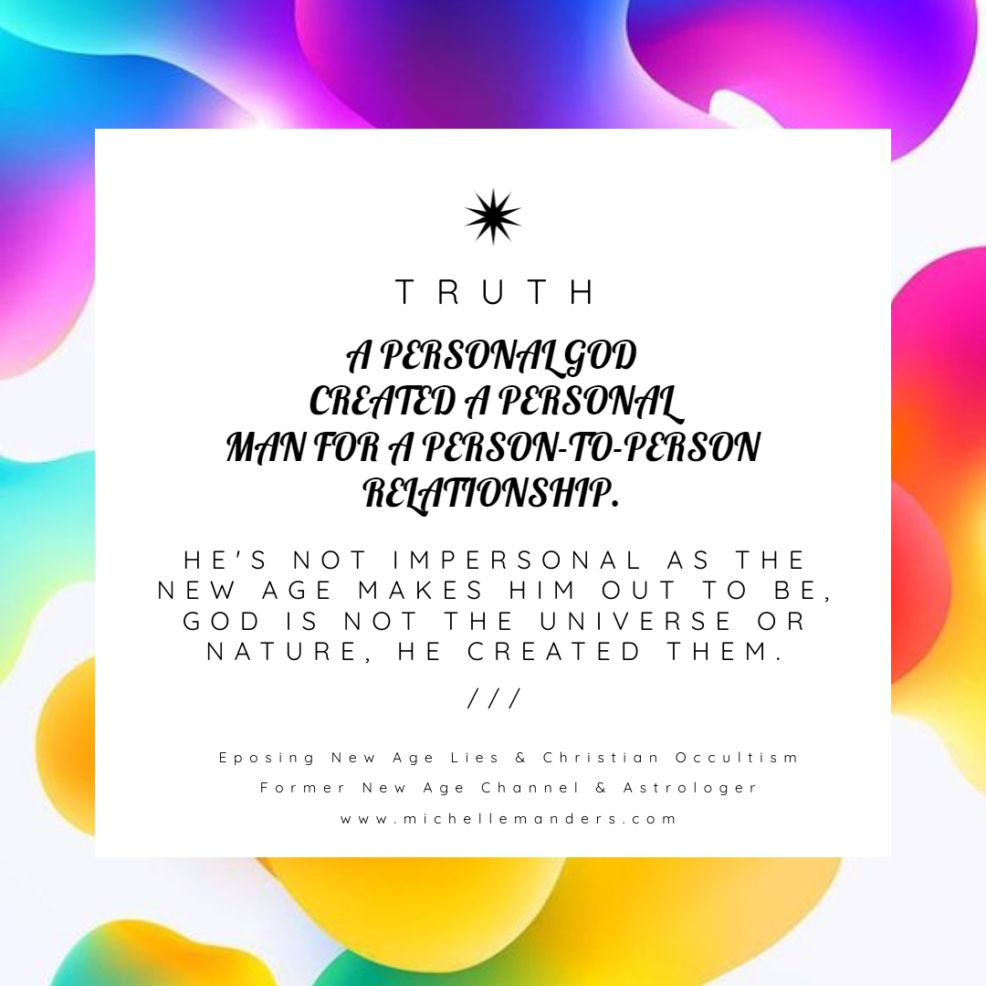 God Is Personal