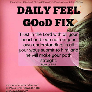 Lean on the Lord only!