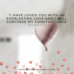 Trust in God's love for you.