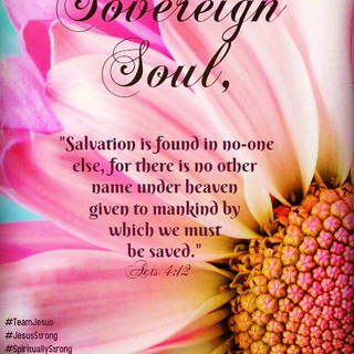 Jesus, our ONLY salvation!