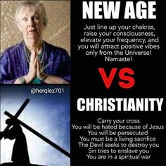 New Age vs Christianity