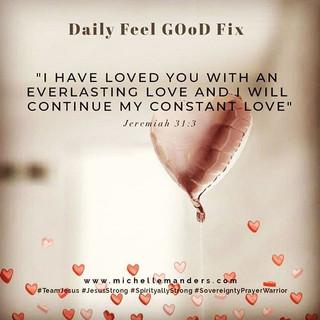 Jesus' constant Love.