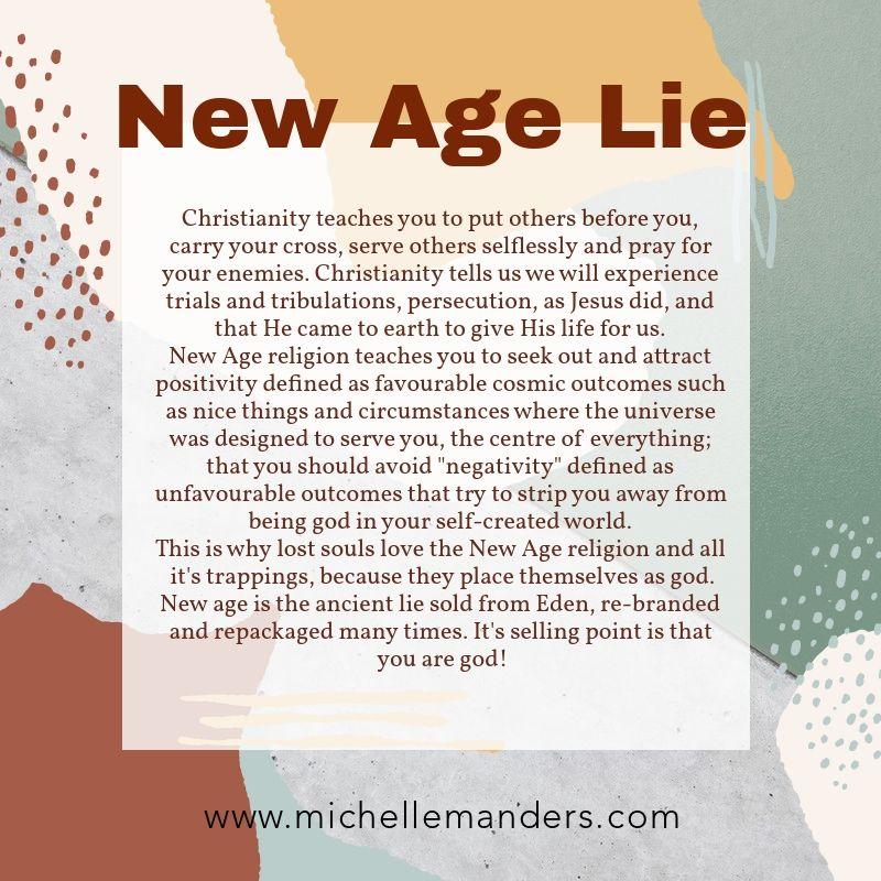 New Age Lie