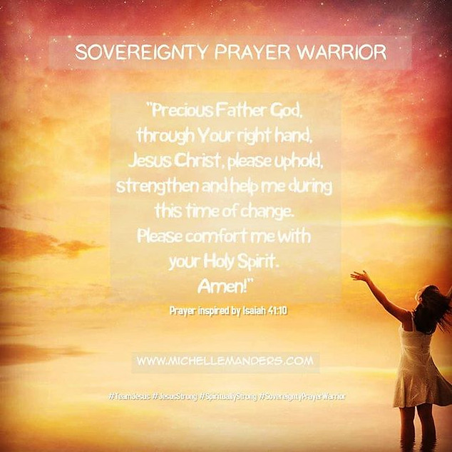 Prayer For Strength During Change