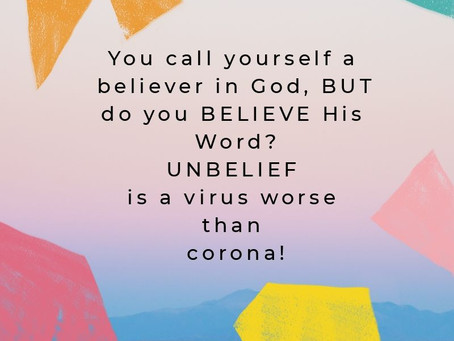 Are You Really A Believer?
