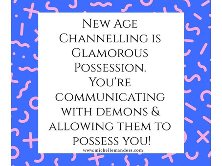 Channeling - Glam Demonic Possession