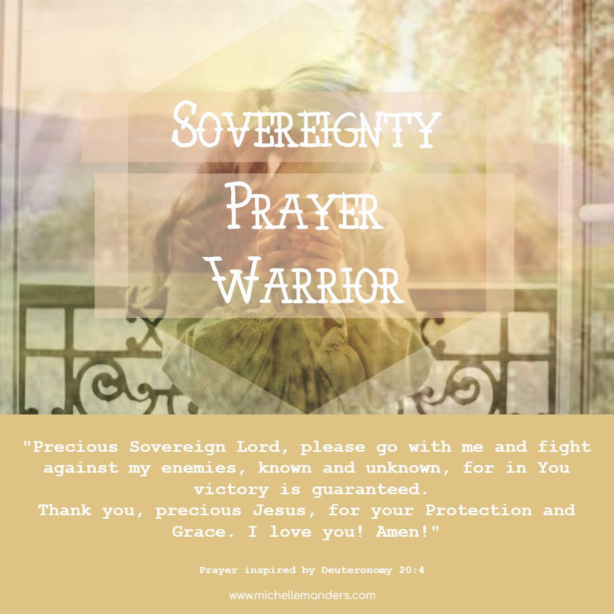 Prayer for Assistance in Dealing with Enemies