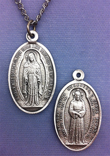 OUR LADY OF TEARS MEDAL